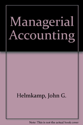 9780471517795: Managerial Accounting
