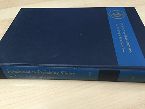 Introduction to Probability Theory and Statistical Inference: Larson, Harold J.