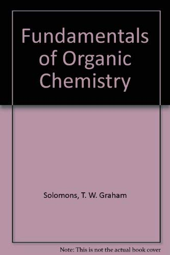 9780471517825: Fundamentals of Organic Chemistry