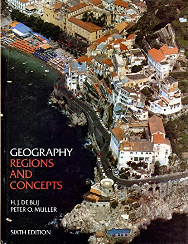 9780471518501: Geography Regions and Concepts