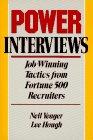 9780471521143: Power Interviews: Job-Winning Tactics from Fortune 500 Recruiters