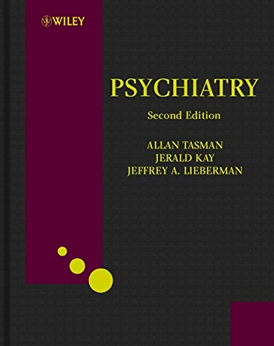 Psychiatry (Psychiatry (Tasman)) (2 Vol Set) Over Size