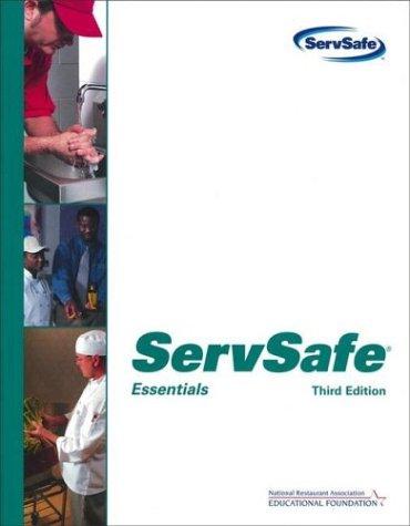9780471521846: ServSafe Essentials without Scantron Certification Exam Form