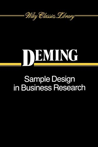Sample Design in Business Research: W. Edwards Deming