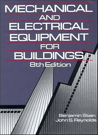 9780471525028: Mechanical and Electrical Equipment for Buildings