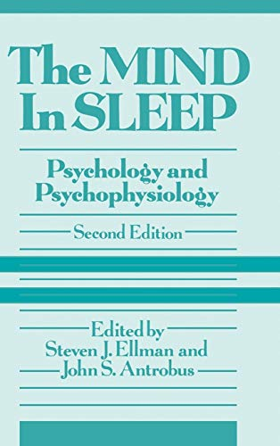 9780471525561: Mind In Sleep 2E: Psychology and Psychophysiology (Wiley Series on Personality Processes)