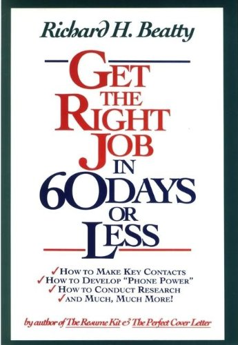 9780471526124: Get the Right Job in 60 Days or Less