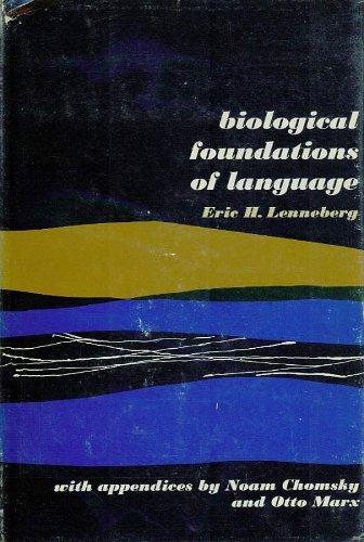 9780471526261: Biological Foundations of Language