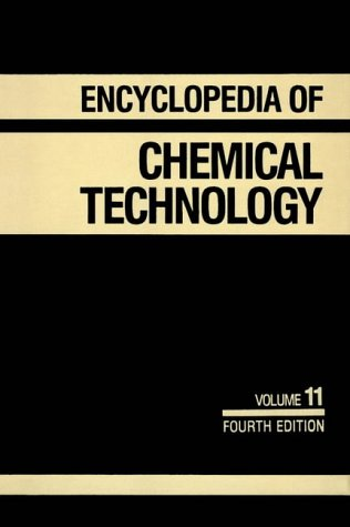 9780471526803: Kirk-Othmer Encyclopedia of Chemical Technology, Flavor Characterization to Fuel Cells (Volume 11)