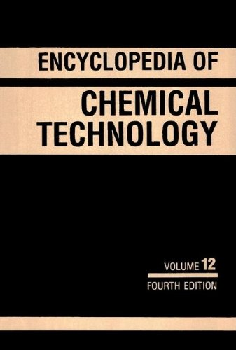 Kirk-Othmer Encyclopedia of Chemical Technology, Fuel Resources to Heat Stabilizers (Volume 12): ...