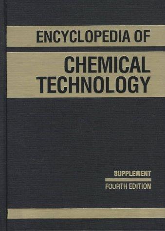9780471526964: Kirk-Othmer Encyclopedia of Chemical Technology, Supplemental Volume to the 27 Volume Set (Encyclopedia of Chemical Technology)