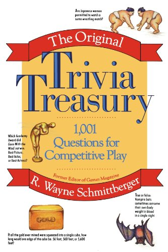 9780471527596: The Original Trivia Treasury: 1,001 Questions for Competitive Play