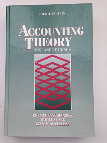 9780471527695: Accounting Theory: Text and Readings