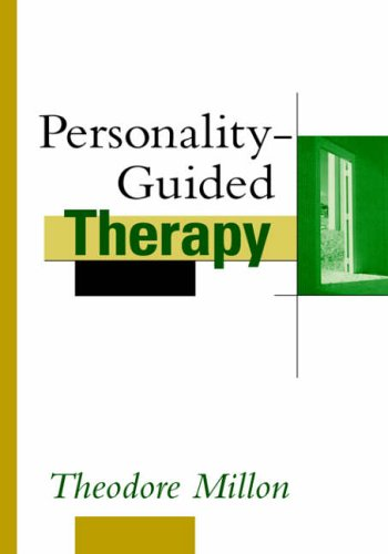 9780471528074: Personality-Guided Therapy (Wiley Series on Personality Processes)