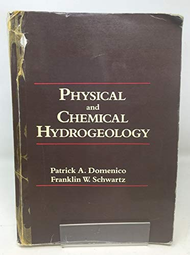 9780471529873: Physical and Chemical Hydrogeology