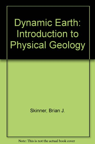 9780471532170: Dynamic Earth: Introduction to Physical Geology