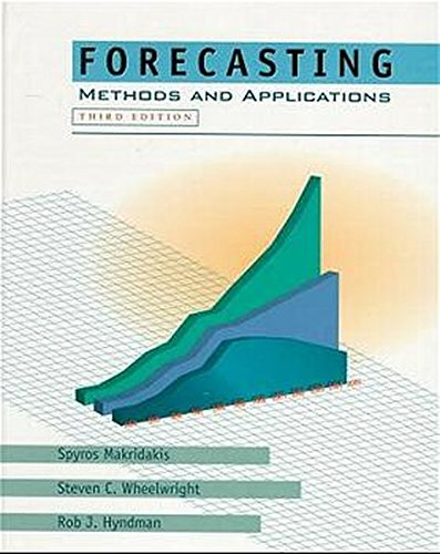 9780471532330: Forecasting: Methods and Applications