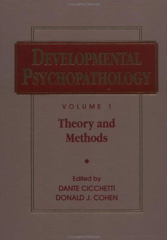 9780471532439: Developmental Psychopathology, Theory and Methods (Wiley Series on Personality Processes) (Volume 1)