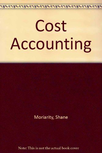 9780471533986: Cost Accounting