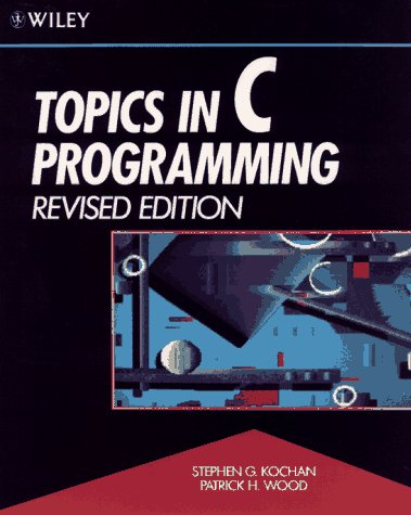 9780471534044: Topics in C Programming, Revised Edition