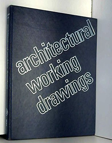 9780471534327: Architectural Working Drawings