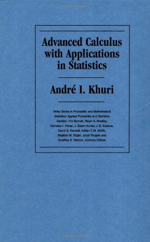 9780471534594: Advanced Calculus with Applications in Statistics
