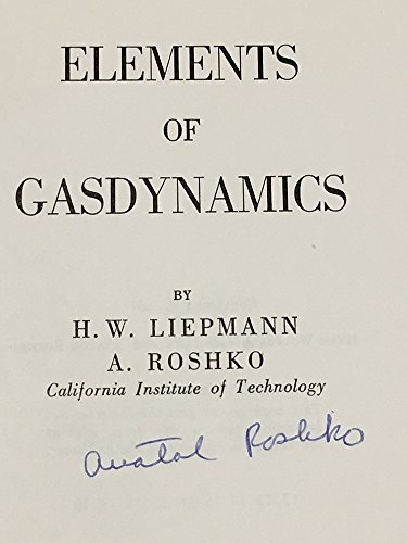 9780471534600: Elements of Gasdynamics