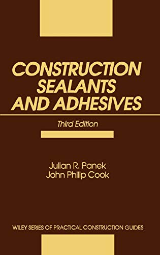 9780471534747: Construction Sealants and Adhesives