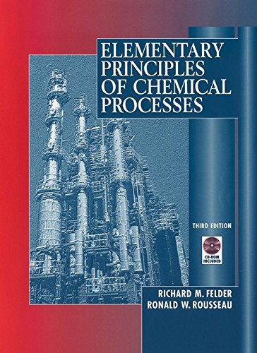 9780471534785: Elementary Principles of Chemical Processes