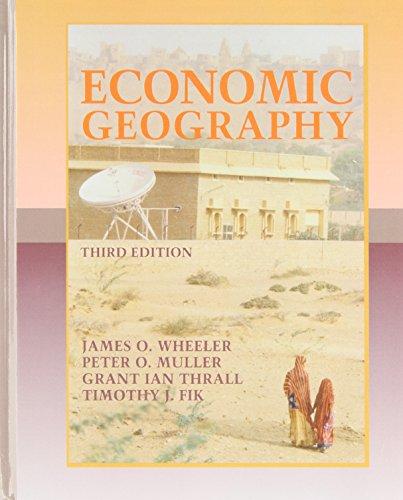 9780471536208: Economic Geography