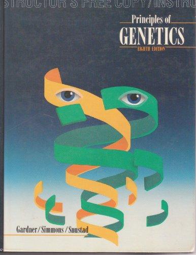 9780471537281: Principles of Genetics, Instructor's Free Copy