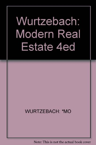 9780471537380: Modern Real Estate, Instructor's Free Copy