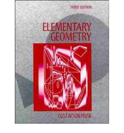 9780471537465: Elementary Geometry, Instructor's Free Copy, 3rd Edition