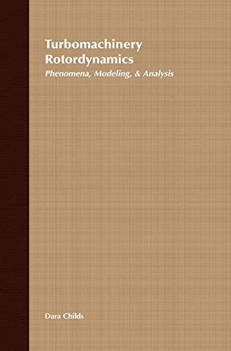 9780471538400: Turbomachinery Rotordynamics: Phenomena, Modeling and Analysis