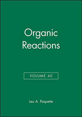 9780471538417: Volume 40, Organic Reactions