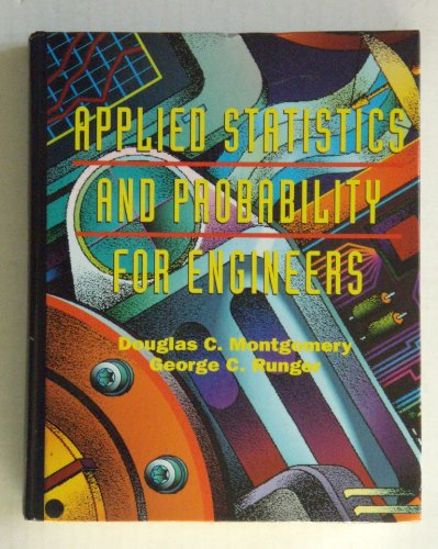 9780471540410: Applied Statistics and Probability for Engineers
