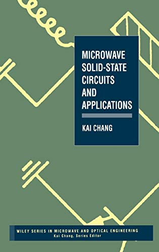 9780471540441: Microwave Solid-State Circuits and Applications