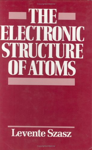 9780471542803: The Electronic Structure of Atoms