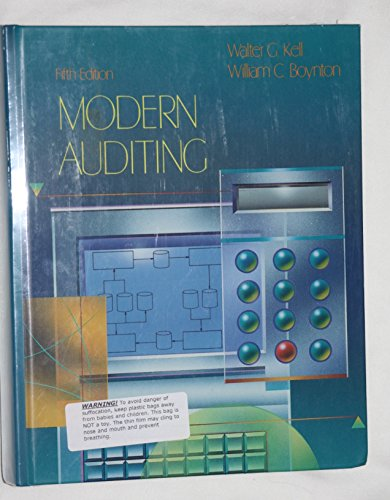 Modern Auditing: Kell, Walter G.,
