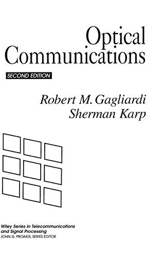 9780471542872: Optical Communications (Wiley Series in Telecommunications and Signal Processing)