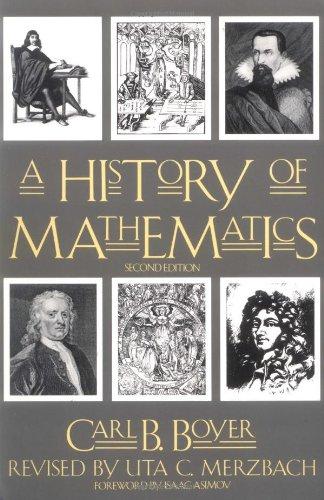 9780471543978: A History of Mathematics, Second Edition