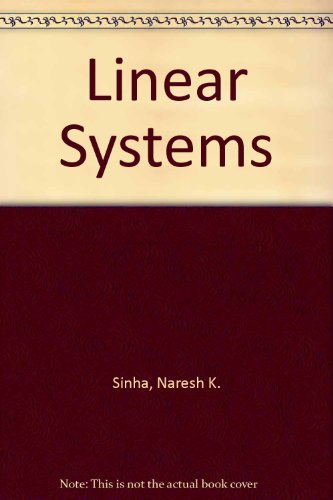 9780471544517: Linear Systems