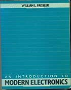 9780471544654: An Introduction to Modern Electronics