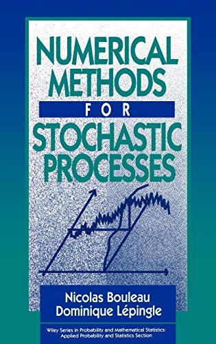 9780471546412: Numerical Methods for Stochastic Processes