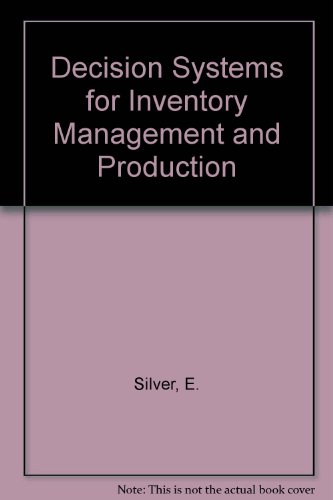 9780471547846: Decision Systems for Inventory Management and Production