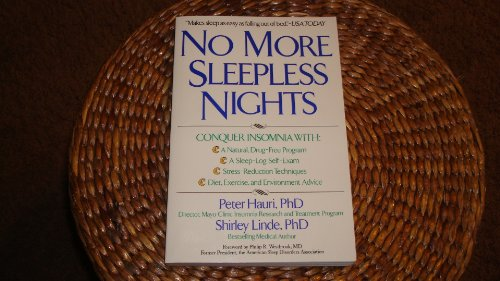 9780471547969: No More Sleepless Nights