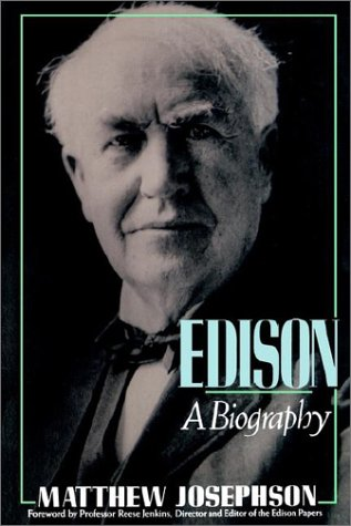 9780471548065: Edison: A Biography