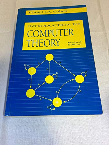 9780471548416: Introduction to Computer Theory