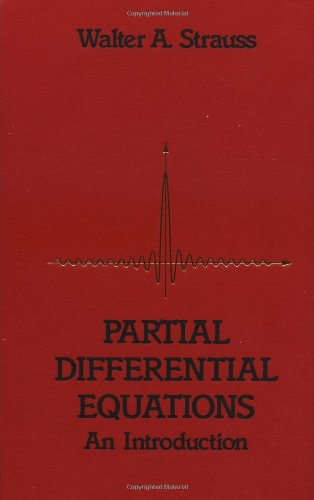 9780471548683: Partial Differential Equations: An Introduction