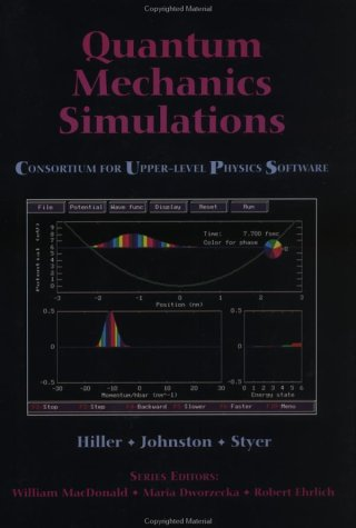 9780471548843: Quantum Mechanics Simulations: The Consortium for Upper-Level Physics Software/Book and Disk